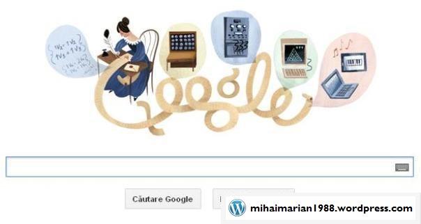 Ada Lovelace, sărbătorită la 197 de ani de la naşterea sa