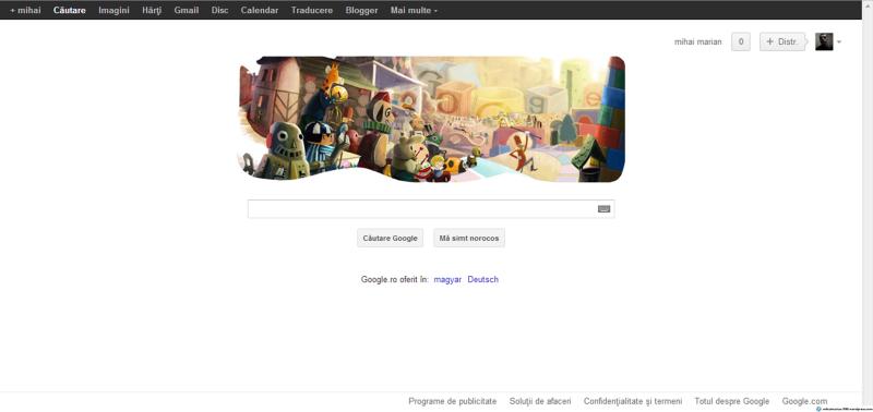 Sărbători fericite de la Google!