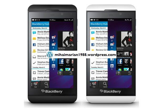 BlackBerry Z10 si BlackBerry Q10 au fost lansate oficial 2