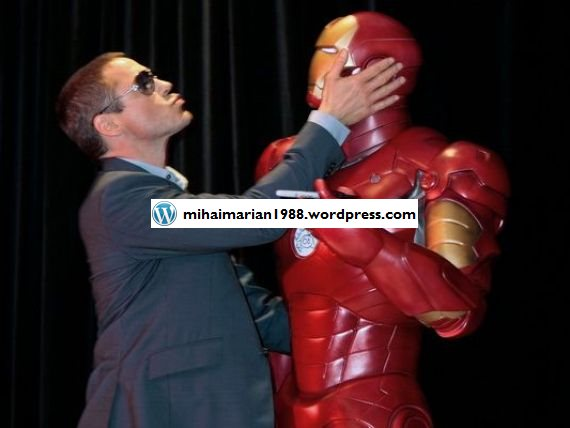 "Iron Man lupta impotriva Apple si Samsung. Campania in care ""s-a implicat"" personajul interpretat de Robert Downey Jr"