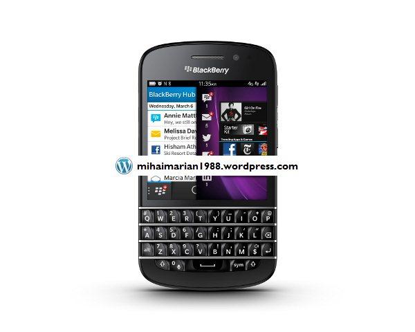 Noul sistem de operare BlackBerry 10