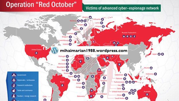 Romania este amenintata de virusul Red October, cel mai sofisticat spionaj cibernetic din istorie