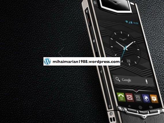 Vertu Ti, smartphone-ul de aproape 8.000 de euro, ce rezista si daca este calcat de un camion