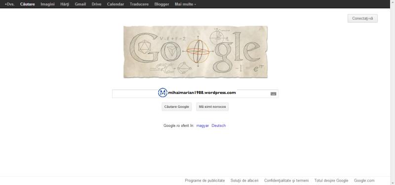 306 ani de la nașterea lui Leonhard Euler