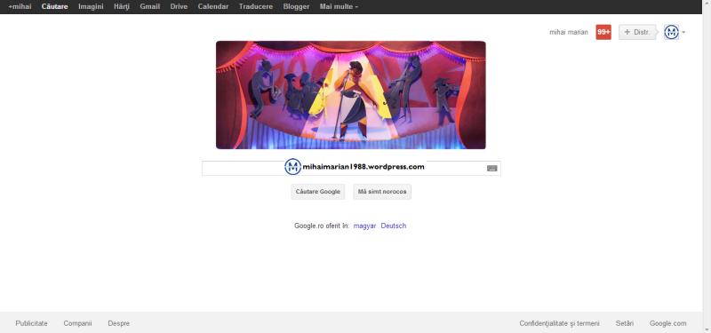 ELLA FITZGERALD, omagiată de Google printr-un Doodle. ELLA FITZGERALD, prima doamnă a cântecului.