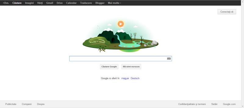 ZIUA PĂMÂNTULUI 2013, celebrată de Google (1)