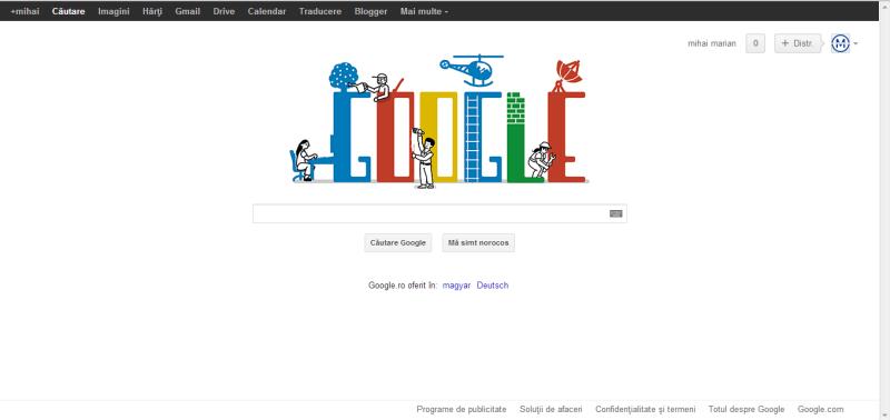 ZIUA MUNCII, sărbătorită astăzi de Google