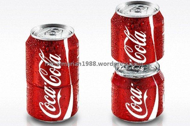 Coca-Cola lansează doza ce poate fi desfăcută în două. VIDEO