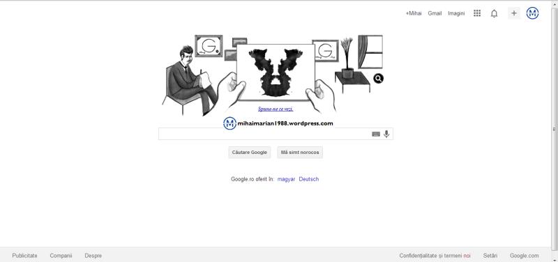 129 ani de la naşterea lui Hermann Rorschach