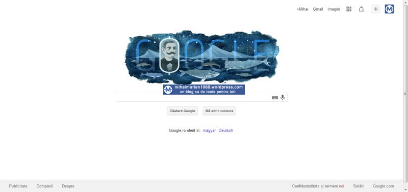 EMIL RACOVIŢĂ, omagiat de Google la 145 de ani de la naştere