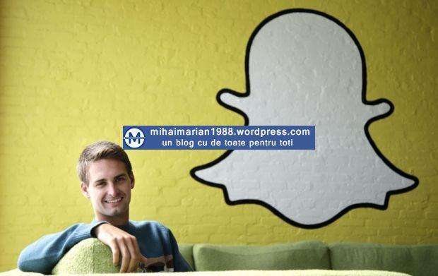 Snapchat, noua retea pe care se pun zilnic mai multe poze decat pe Facebook si Instagram la un loc!