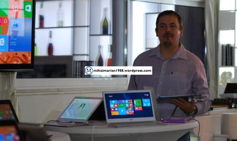 """Windows 8.1, acum in Romania, gratuit pentru cei cu Windows 8. """"Nu este un service pack"""""""